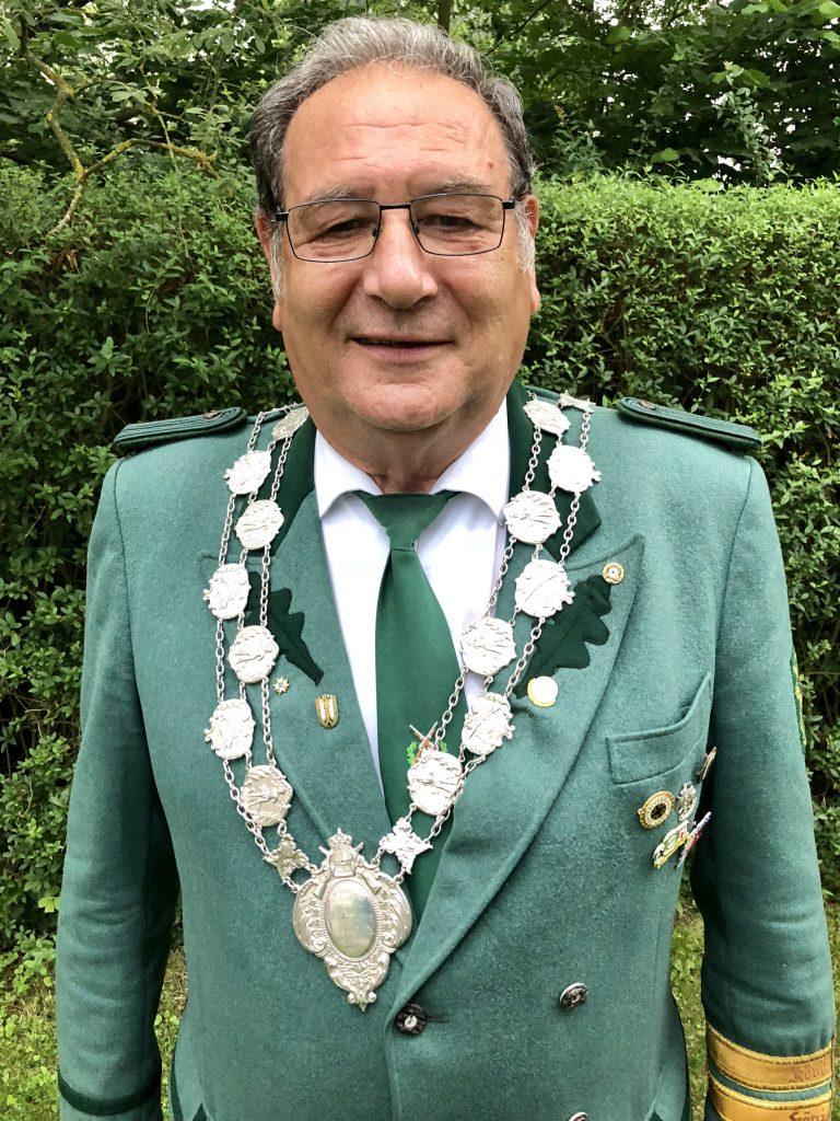 Schützenköng Peter Specht